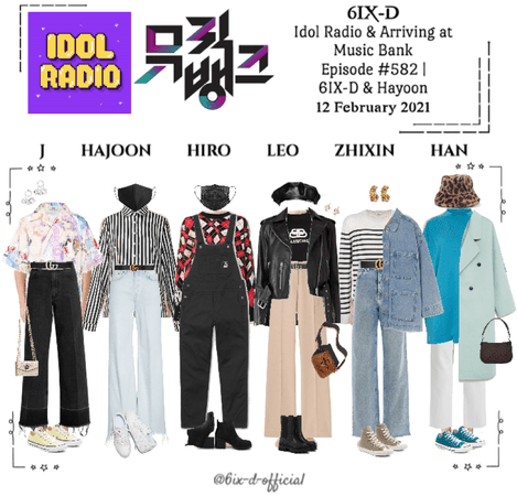 6IX-D [식스디] Idol Radio & Music Bank 210212