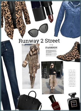 Runway 2 street Fashion: Leopard Print
