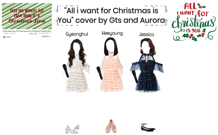All i want for Christmas is you cover with gts