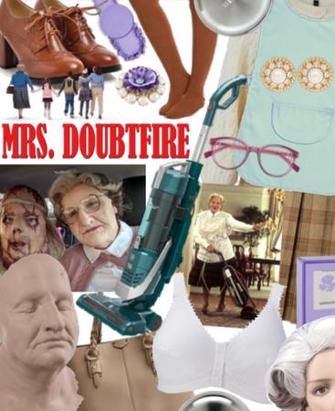 Halloween Costume - Mrs Doubtfire
