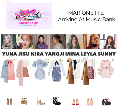 MARIONETTE (마리오네트) Arriving At Music Bank