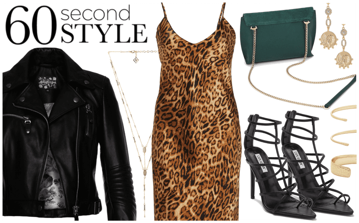 Leopard & Leather Trend