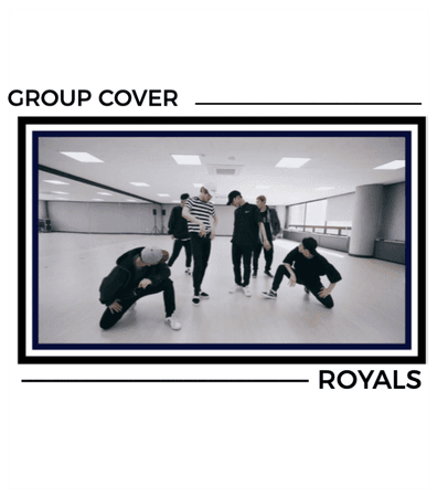 ROYALS [감청색] 'BOSS' Group Cover