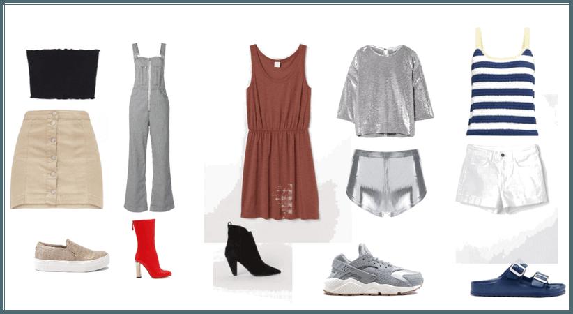 Five Color Scheme outfits