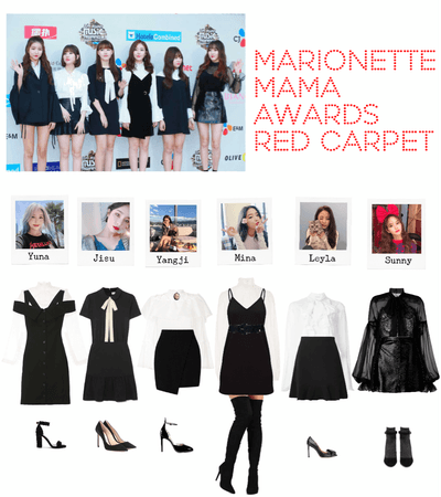 {MARIONETTE} Red Carpet look at MAMA Awards 2018