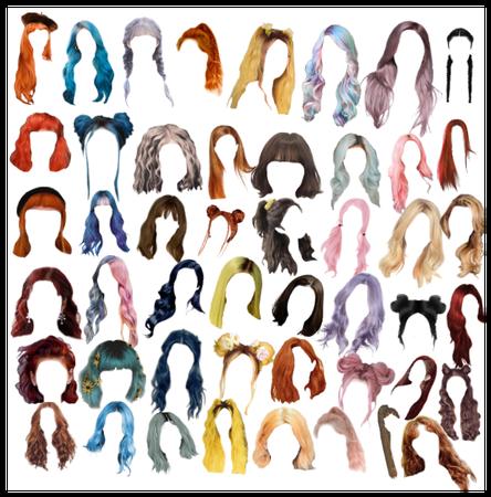 hair part 1