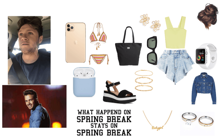 Spring Break with your husband Liam and Niall