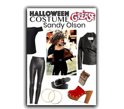 Halloween costume- Grease Sandy Olson