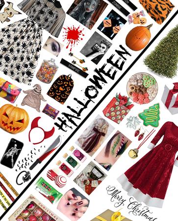 Halloween and Christmas🎄🎃👻