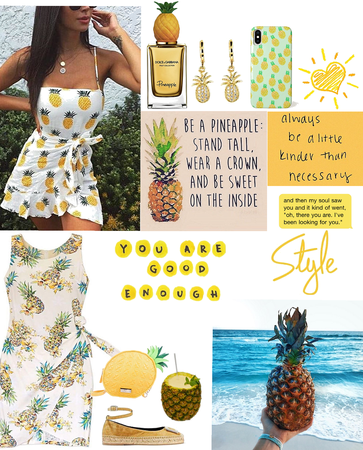 pineapple vibes (@we_girl contest)