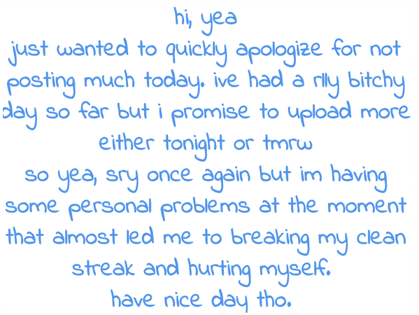 Yea sorry, I'll post soon