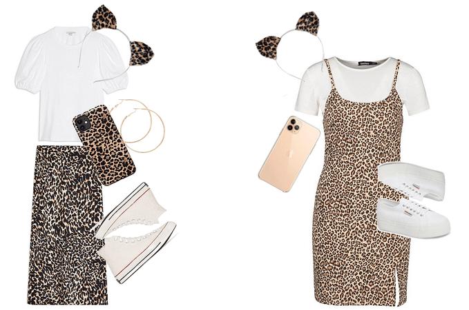 Halloween leopards