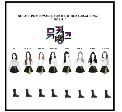8th Arc comeback stage Outfits