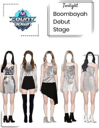 debut stage(fake kpop group)