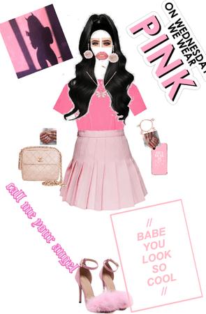 Pink💖,mean school 🏫 girl