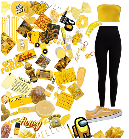 Yah a lot of yellow