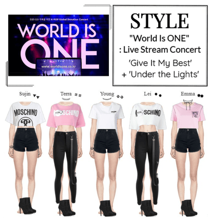 "STYLE ""World Is ONE"": Live Stream Concert"