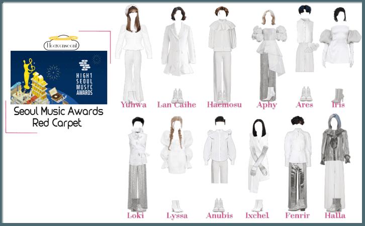 Heavenscent Seoul Music Awards Red Carpet (Year 1)