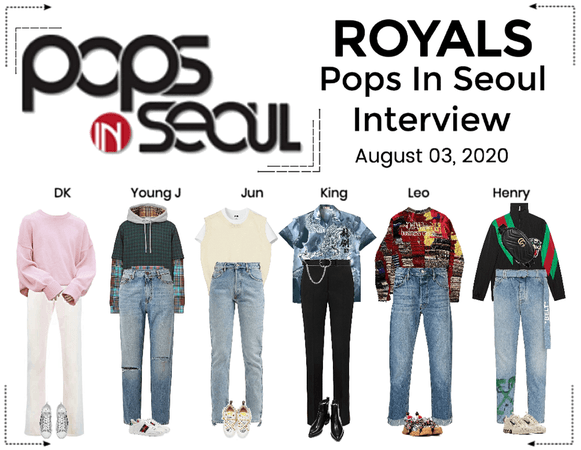 ROYALS [감청색] Pops In Seoul Interview