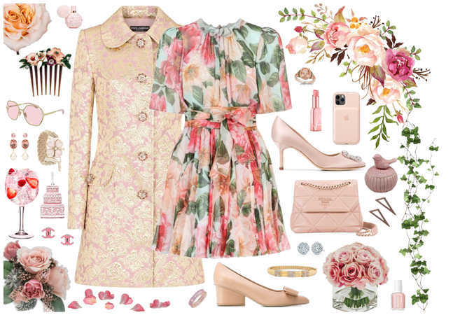 Dolce & Gabbana Pattern Mix