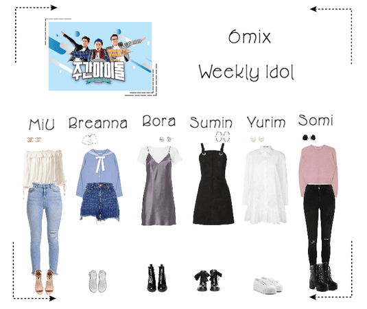 《6mix》Weekly Idol