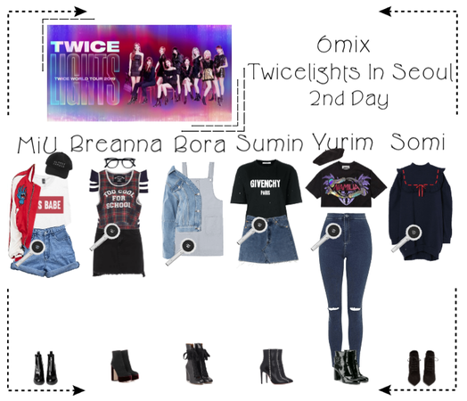 《6mix》Twice Lights World Tour In Seoul