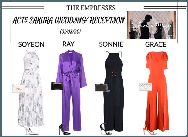 [EMPRESS] ACT5 SAKURA'S WEDDING/ RECEPTION
