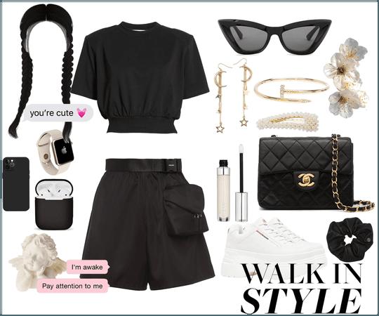 Capricorn Black Trendy Streetwear