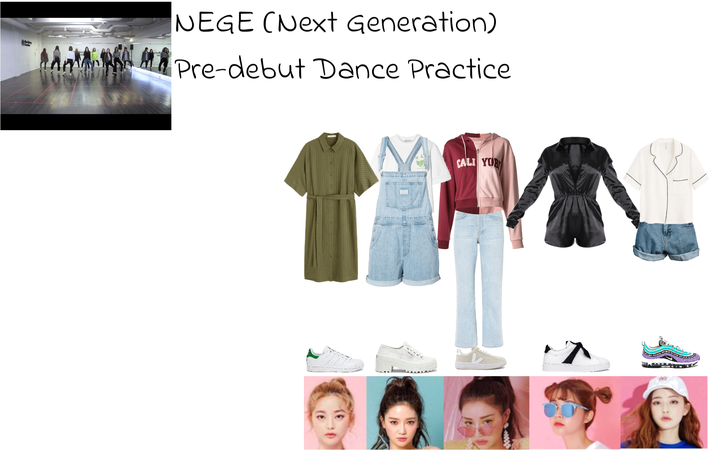 NEGE (Next Generation) Pre-Debut Dance Practice