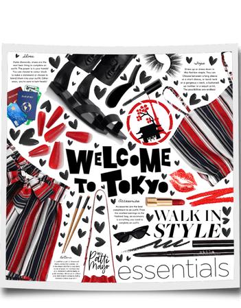 TOKYO DESTINATION 🖤❤️