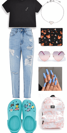 teen school outfit