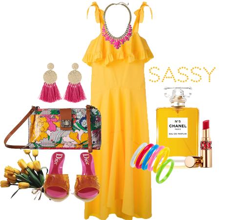 Sassy Yellow