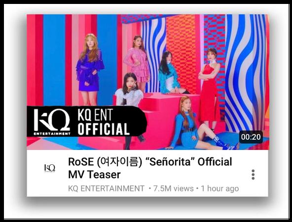 """{RoSE} """"Senorita"""" Official MV Teaser"""