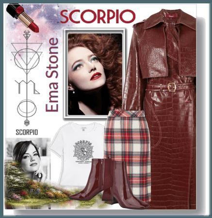 Emma Stone Scorpio