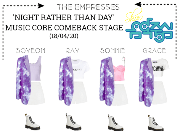 [EMPRESS] 'NIGHT RATHER THAN DAY'   MUSIC CORE