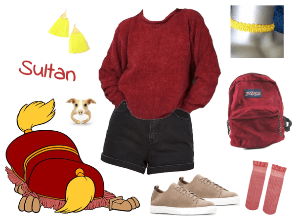 Sultan outfit - Disneybounding