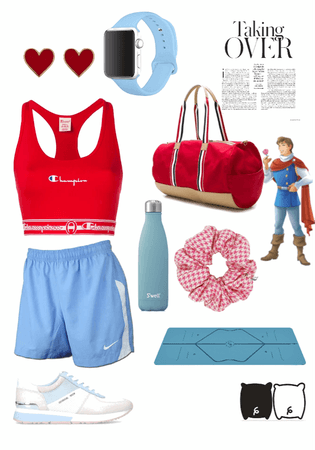 Disney The Prince Inspired Workout Outfit