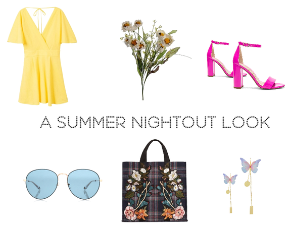 a summer nightout look