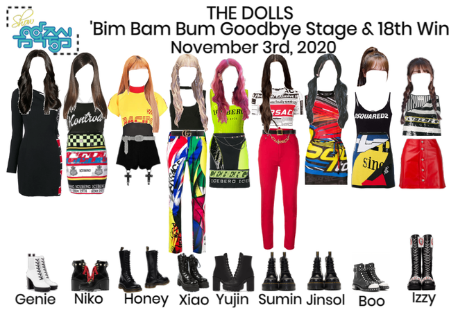 [Bim Bam Bum] Show! Music Core Final Stage