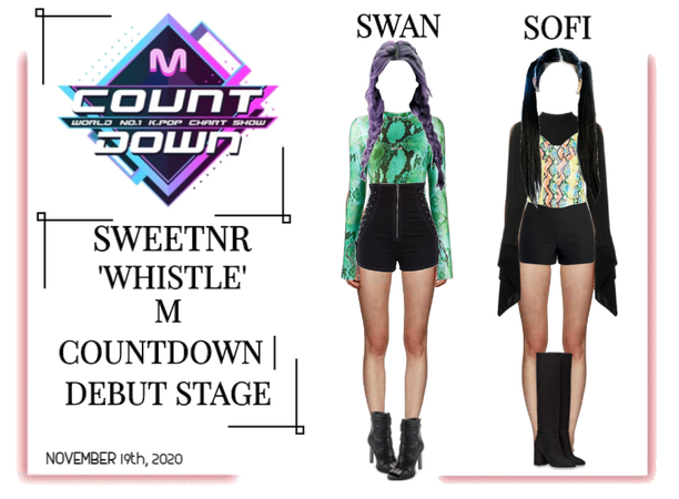 ~SWTNR~ 'WHISTLE' | M COUNTDOWN | DEBUT STAGE