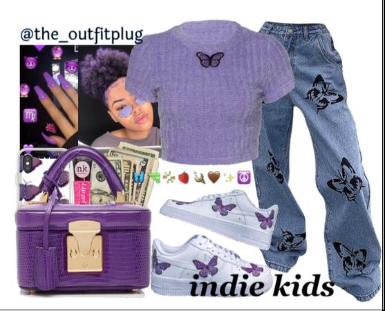 purple indie kid!