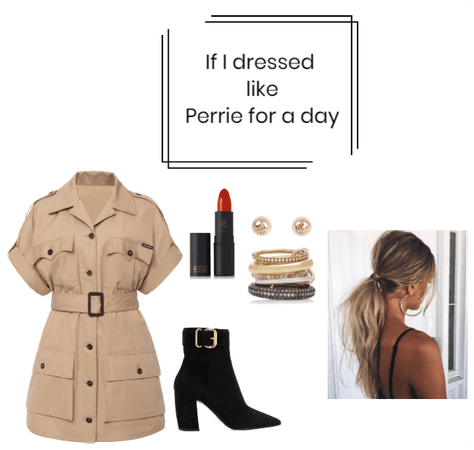 If I dressed like Perrie Edwards for a day