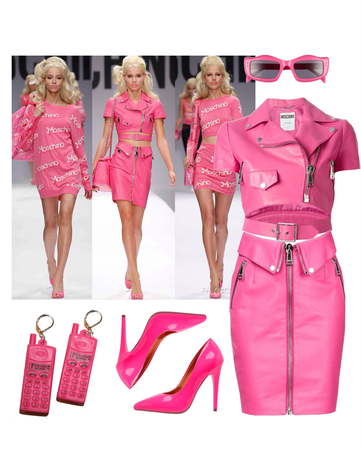 RUNWAY STYLE: Moschino Barbie Collection