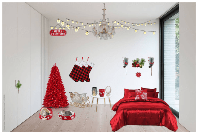holiday. decor challenge bedroom addition