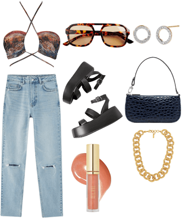 Brunch date outfit