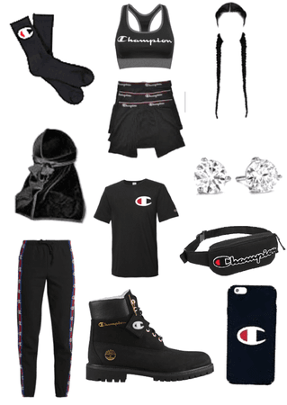 all champion stud/dyke outfit