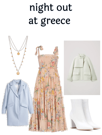 night out at greece