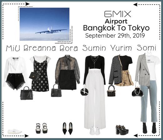 《6mix》Airport | Bangkok To Tokyo