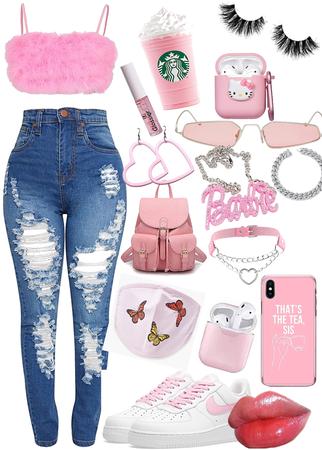 bubble gum baddie 👅🌸💖💞