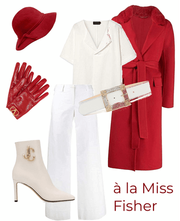 Red & White after Miss Fisher